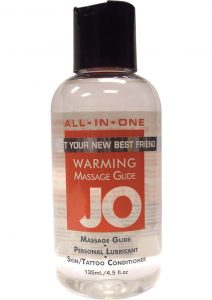 Jo All-In-One Silicone Warming Sensual Massage Glide 4oz