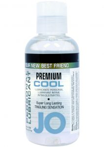 Jo Premium Anal Cool Silicone Lubricant 4 Ounce