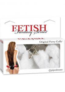 Fetish Fantasy Series Furry Cuffs White