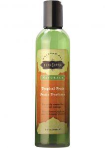 Naturals Sensual Massage Oil Tropical Mango 8 Ounce