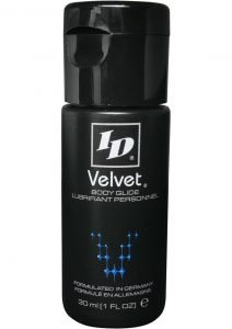Id Velvet Silicone Lubricant Waterproof 1 Ounce