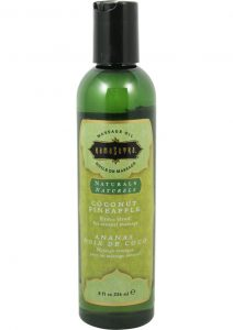 Naturals Massage Oil Coconut Pineapple 8 Ounce