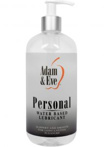 Adam and Eve Personal Water Based Lubricant 16 Ounce
