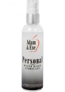 Adam and Eve Personal Water Based Lubricant 4 Ounce