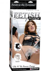 Fetish Fantasy Extreme Clit N Tit Power Pump