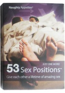 Naughty Appetites 53 Sex Postions Card Game