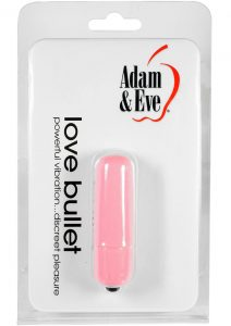 Adam and Eve Love Bullet Waterproof Pink 2.25 Inch