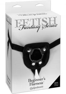 Fetish Fantasy Series Beginners Harness Adjustable Black