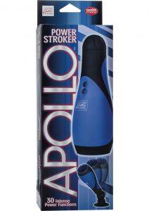 Apollo Power Stroker Masturbator Blue 8.5 Inch