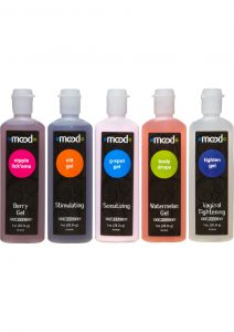 Mood Pleasure For Her Enhancement Gels Assorted Gels 1 Ounce 5 Each Per Pack