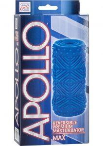 Apollo Reversible Premium Masturbator Max Stroker Blue