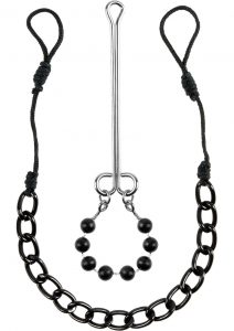 Fetish Fantasy Series Limited Edition Nipple and Clit Jewelry Black
