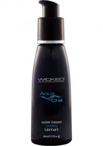 Wicked Aqua Chill Water Based Cooling Lubricant 2 Ounce
