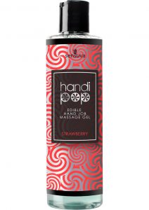Handi Pop Edible Hand Job Massage Gel Strawberry 4.2 Fl Oz