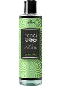 Handipop Edible Hand Job Massage Gel Green Apple 4.2 Ounce