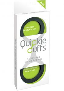 Quickie Cuffs Silicone Restraints Large Black