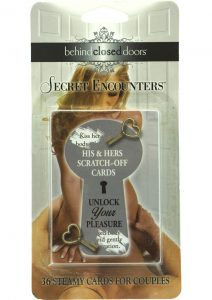 Behind Closed Doors Secret Encounters His and Hers Scratch Off Cards