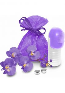 Fuzu Fingertip Massager Silicone Waterproof Neon Purple