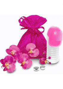 Fuzu Fingertip Massager Silicone Waterproof Neon Pink