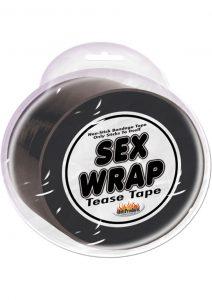 Sex Wrap Tease Tape Black