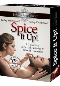 Behind Closed Doors Spice It Up Card Game For Couples