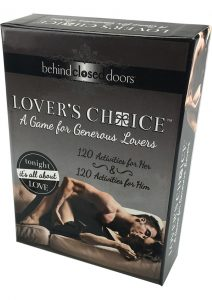 Behind Closed Door Lovers Choice Game For Couples