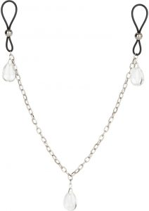 Nipply Play Non Piercing Nipple Chain Jewelry Crystal