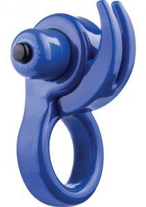 Orny Reuseable Ring Vibe Latex Free Waterproof Blue