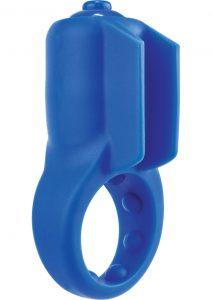 PrimO Minx True Silicone Vibe C Ring Waterproof Blue