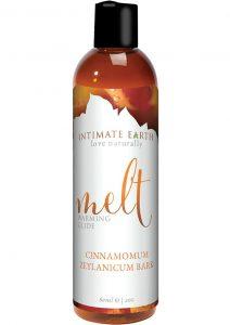 Intimate Earth Melt Warming Glide Cinnamomum Zeylanicum Bark 2 Ounce