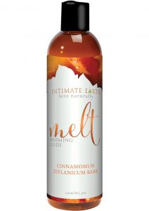 Intimate Earth Melt Warming Glide Cinnamomum Zeylanicum Bark 4 Ounce