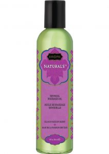 Naturals Sensual Massage Oil Island Passion Berry 8 Ounce