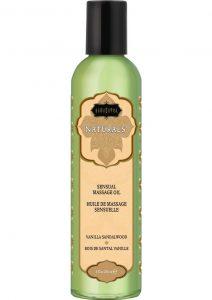 Naturals Sensual Massage Oil Vanilla Sandalwood 8 Ounce