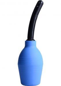Clean Stream Premium One Way Valve Enema Bulb Blue 300 Millilliter