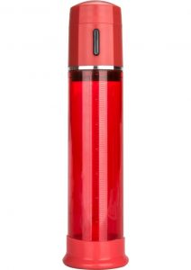 Advanced Fireman`s Pump Fully Automated One-Hand Control Penis Pump Red