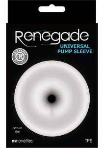 Renegade Universal Pump Sleeve Anal - Clear