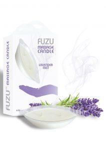 Fuzu Massage Candle Lavender Mist Vegan Friendly 4 Ounce
