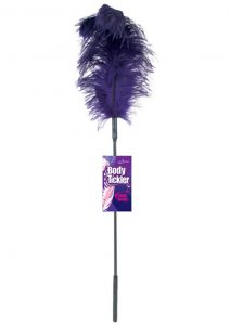 Body Tickler Ostrich Feather Tickler Purple