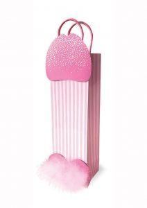 Penis Shape Gift Bag Pink