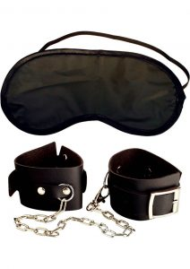 Fetish Fantasy Series Beginners Cuffs Black