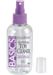 Berman Center Intimate Accessories Antibacterial Toy Cleaner 6.28 Ounce Spray