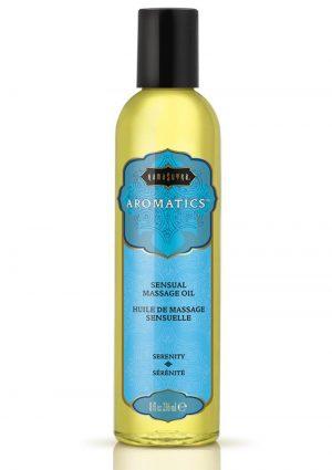 Aromatics Massage Oil Serenity 8 Ounce