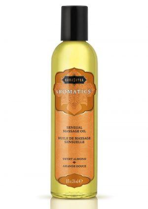 Aromatics Massage Oil Sweet Almond 8 Ounce