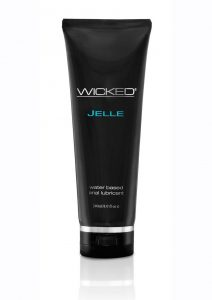 Wicked Jelle Anal Lubricant 8 Ounce