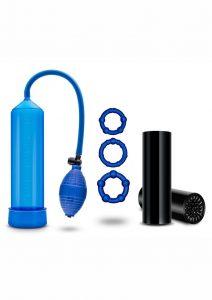 Quickie Kit Go Big Performance Pump Kit Blue
