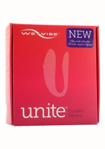 We-Vibe New Unite Couples Vibrator Silicone USB Rechargeable Vibe With Wireless Remote Splashproof Purple