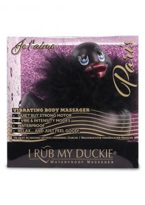 I Rub My Duckie 2.0 Paris Waterproof Vibrating Massager  Black
