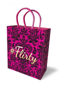 # Flirty Gift Bag Pink/Black