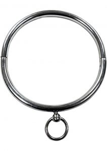 Rogue Steel Ring Collar - Silver