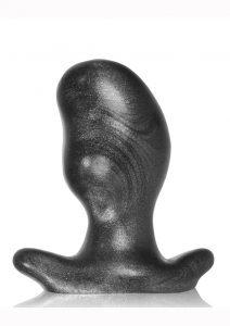 Oxballs Ergo Silicone Butt Plug - Large - Smoke Smoosh